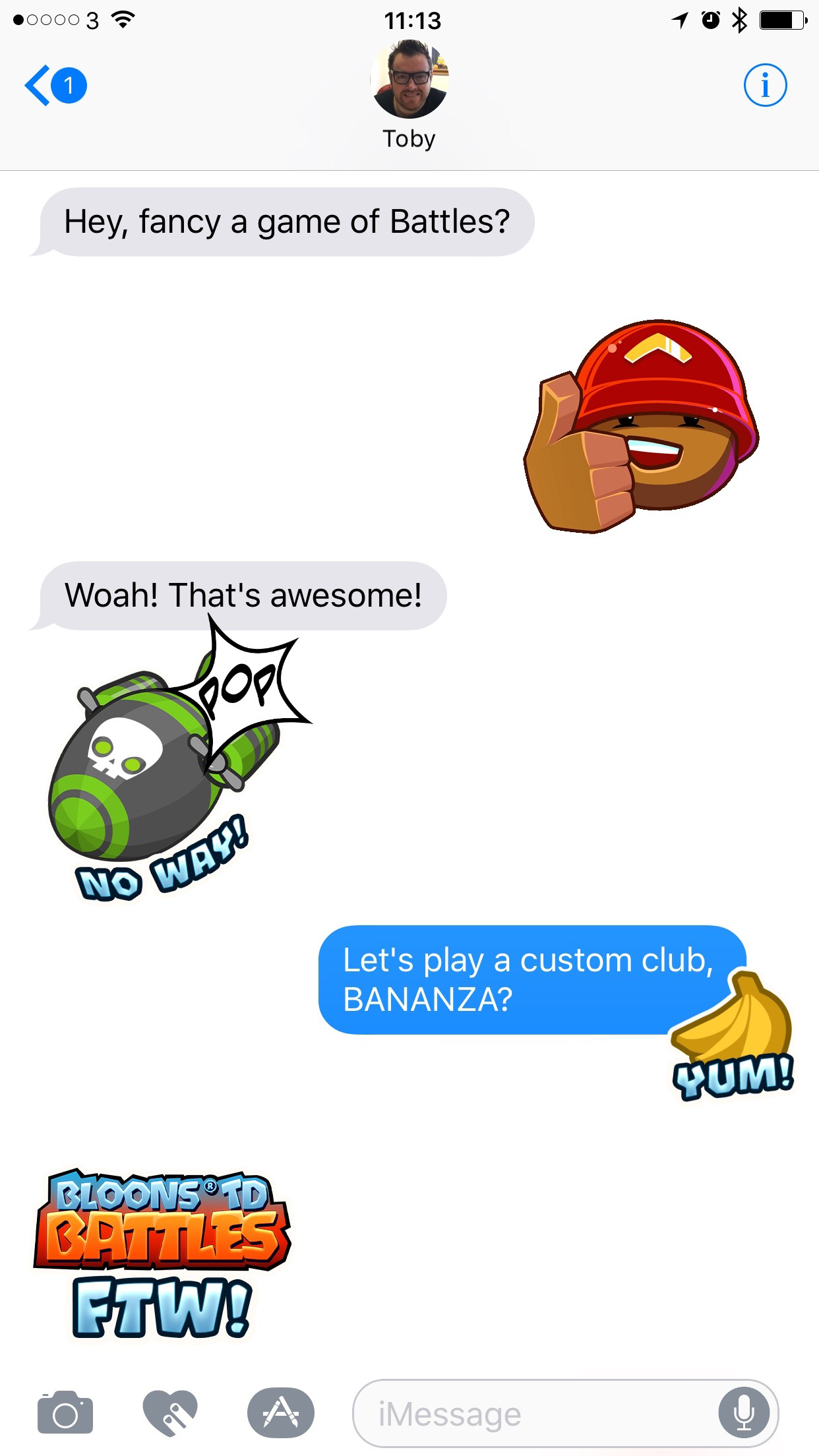 Stickers for imessage ios 10 only